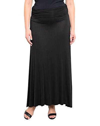 S.H.E. Plus Women's Long Maxi Skirt