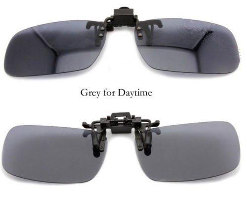 One-piece Sonnenbrillen-Clip Polarisierende Flip Up,UV 400 Sonnenbrille Brillen Aufsatz Clipon Clip On's Brille Sonnenbrillen,Sonnenbrillen-Clip für Brillenträger