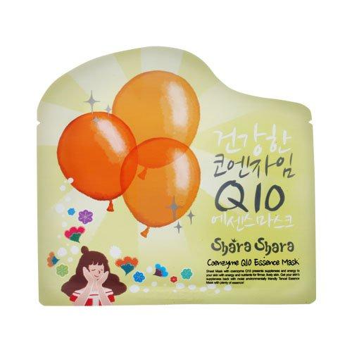 シャラシャラ コエンザイム Q10 エッセンス マスク