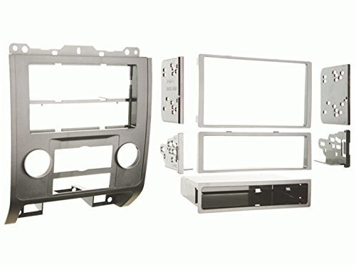 Metra 99-5814S Single or Double DIN Installation Dash Kit for 2008-up Ford Escape, Mercury Mariner, and Mazda Tribute (Silver)