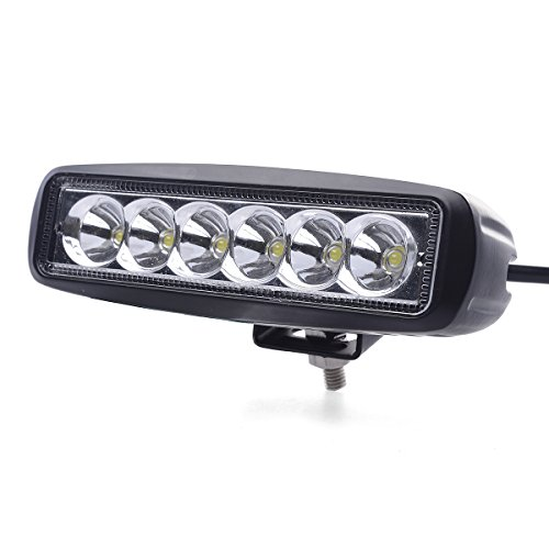 Xcsource 2Pcs 18W 9-30V 30 Degree 2400 Lumen Led Spotlight Beam Lamp Work Light For Working / Driving / Fog, Off Road Spotlight-Jeep Cabin, Boat, Suv, Truck, Car, Atvs Fishing Driving Light Waterproof Car Lamp Ip67 Ld332B