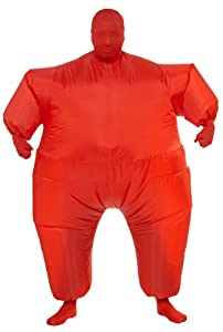 Rubie's Costume Inflatable Full Body Suit Costume, Red, One Size