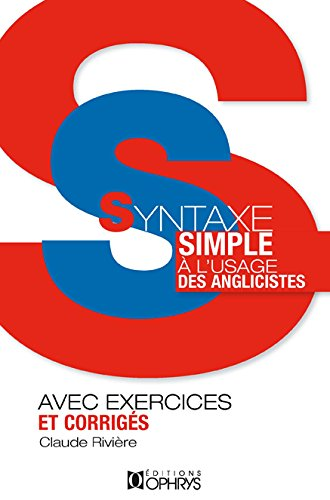 Syntaxe simple (French Edition)
