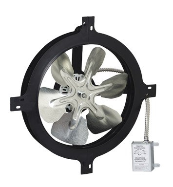Attic Aire Gable Mount Power Fan