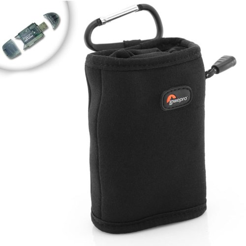 Universal Neo-Stretch Protective Travel / Hiking bag for Handhelp GPS Navigator Units - Garmin Etrex , Oregon , GPSMAP , Nuvi / Magellan eXplorist , Triton / DeLorme Earthmate and many more 2.6