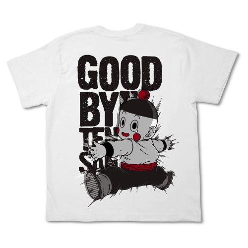 ドラゴンボール改 さよなら天さんTシャツ改 ホワイト サイズ:L