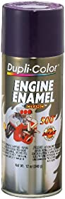 Dupli-Color DE1640 Ceramic Plum Purple Engine Paint - 12 oz.