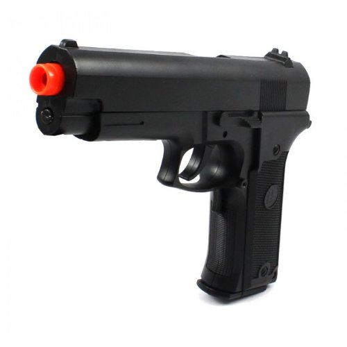 Zombie Electric Airsoft Pistol Full Auto Special Ops Fps-180 Aep Full-Auto Blowback Tactical Pistol