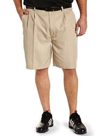 Reebok Big & Tall Golf Play Dry Continuous Comfort Pleated Shorts by Reebok