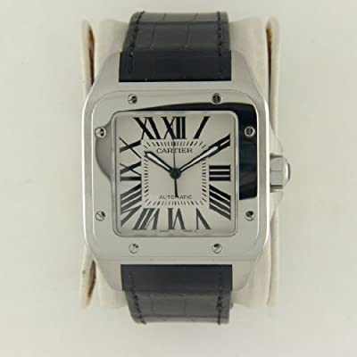 Cartier Men's W20073X8 Santos 100 XL Automatic Watch
