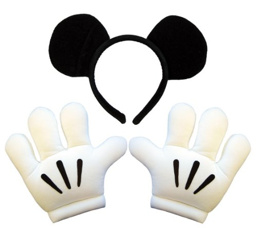 ディズニー ミッキー ヘッドバンド グローブセット コスチューム用小物 802540