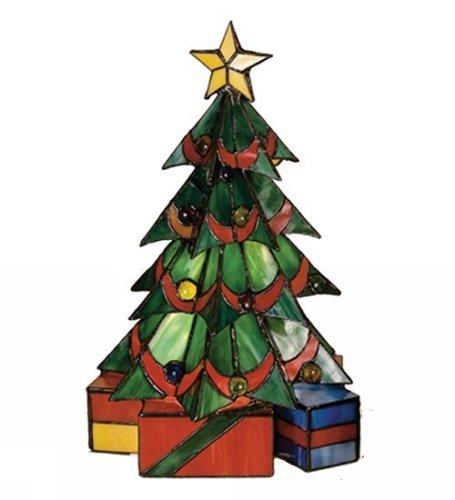 "Meyda Lighting 12961 16""H Christmas Tree Accent Lamp"