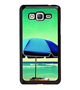 Fuson Premium 2D Back Case Cover Beach With Pink Background Degined For Samsung Galaxy J5::Samsung Galaxy J5 J500F