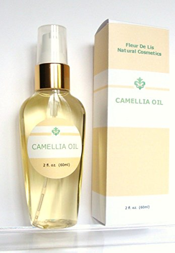 Camellia Oil 100% - Pure Cold Pressed, Organic 2oz / 60 ml. Anti Aging, Dry Skin, Acne Scars, Stretch Marks, Hair - Unscented (Camellia Oil Spray compare prices)