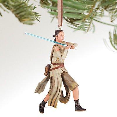 Disney Store 2016 Star Wars Rey Sketchbook Christmas Ornament