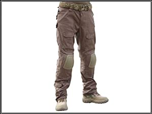 Men Military Tactical Gear Airsoft Paintball BDU Combat Gen2 Pants with Knee Pads... by EMERSON Uniform
