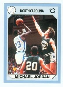 Amazon.com : Michael Jordan Basketball card 1990 Collegiate Collection
