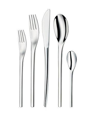 WMF Nordic 30-Piece Flatware Set, Silver (Wmf Piece compare prices)