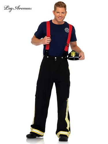 Leg Avenue Adult Fire Captain Costume