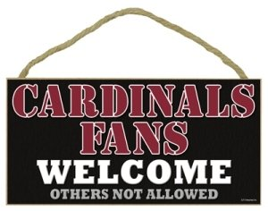 Arizona Cardinals Wood Sign - 5
