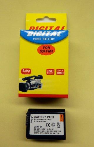 ソニー NEX-5N等にNP-FW50(大容量タイプ1600mA)互換バッテリー