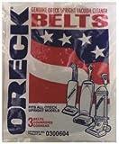 Oreck Commercial 030.0604 3-Pack Oreck Vacuum Belts