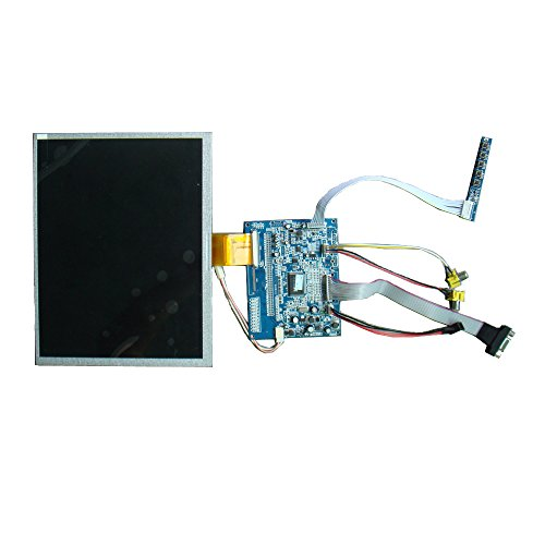 Innolux Lsa40At9001 10.4 Inch Tft Lcd Screen Industrial Lcd Monitor Diy Kits Accessories Replacement Including Screen,Driver Board,Keys Board,Av And Vga Interface For Car Monitor,Mid, Dvd,Industrial Control Monitor