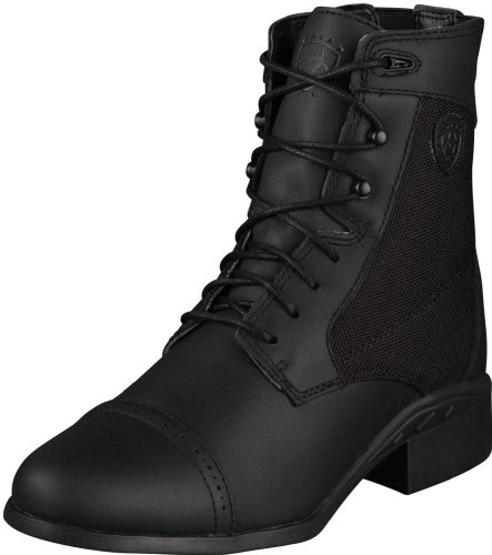Ariat Women's Heritage Sport Paddock Waterproof Lace-Up Riding Boot Round Toe
