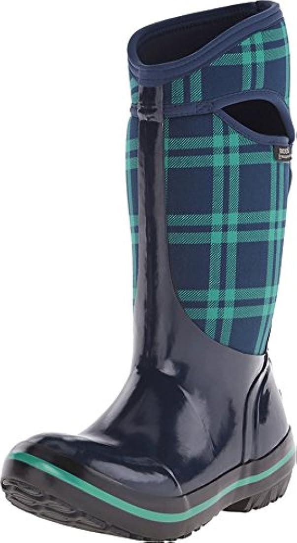 Bogs Plimsoll Plaid Tall W Womens Tall Waterproof