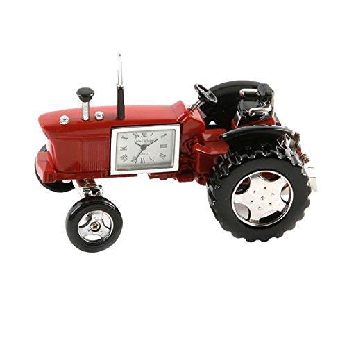miniature-farmers-tractor-red-novelty-desktop-collectors-clock-9236r