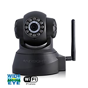 X10 AirSight Wireless IP Camera, Network Cam, Wide Angle, Night Vision, 2-way Audio XX41A