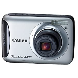 canon powershot a495 review