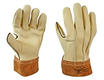Ranch Hand Goatskin Gloves - Size 10