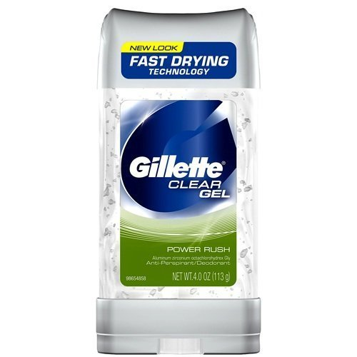 Gillette AntiーPerspirant Clear Gel Power Rush 120 ml