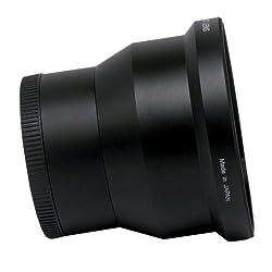Goja 52mm 2.2x Telephoto and 0.43x Wide Angle High Definition Lenses for NIKON DSLR (D5100 D3100 D40 D60 D80 D3000 D5000 D7000) with Premium MagicFiber Microfiber Lens Cleaning Cloth