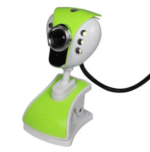 Nicerocker 20 Mega Usb 6 Led Webcam Camera Pc Laptop Mic Gift Nmw