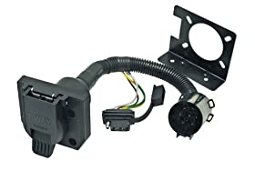 Reese Towpower 74682 7 Way Multi-Plug T-Connector Assembly U. S. Car Replacement Socket OEM