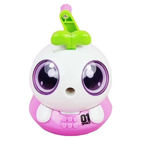 Space Bo Bo Manual Pencil Sharpener For Office And Home Desks Classroom (Pink)
