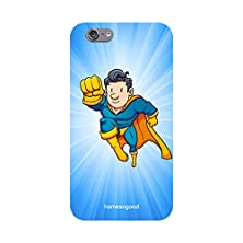 buy Homesogood Flying Cartoon Character Blue 3D Mobile Case For Iphone 6 (Back Cover)