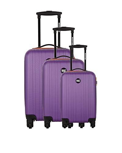 Bag Stone Set de 3 trolleys rígidos Begin
