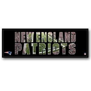 NFL New England Patriots Artissimo Team Pride 36x12 Canvas Art by Artissimo