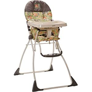 Cosco Flat Fold High Chair, Born To Be Wild