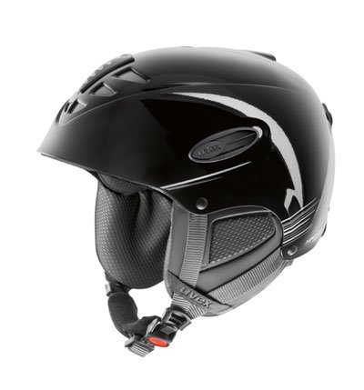 UVEX Skihelm Uvision Air, black/anthrazite, 55-58 cm, S56.6.126.2505