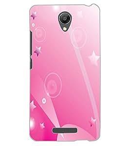 ColourCraft Stars Pattern Design Back Case Cover for XIAOMI REDMI NOTE 2