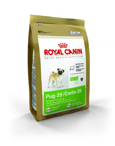 Royal Canin Dry Dog Food, Pug 25 Formula, 10-Pound Bag