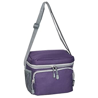 Everest Cooler Lunch Bag, Eggplant Purple, One Size