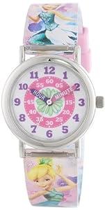 "Disney Fairies Kid's FARKQ198 ""Time Teacher"" Watch"