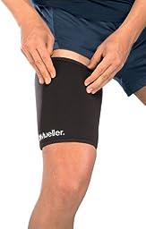 Mueller Thigh Sleeve Neoprene, Black, Medium