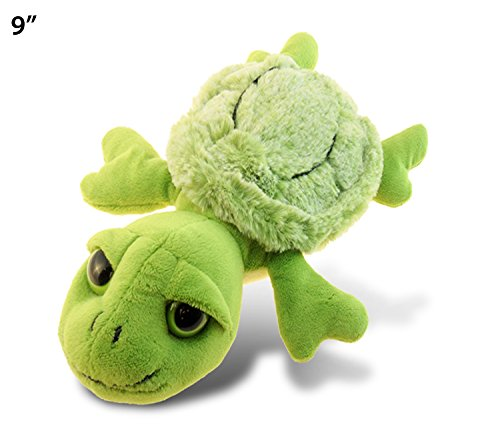 Puzzled Super Soft Small Sea Turtle Plush, 9.5""