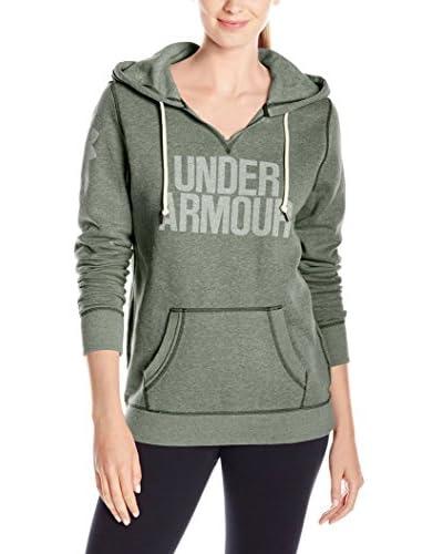 Under Armour Kapuzensweatshirt Favorite Fleece Hoodie grün